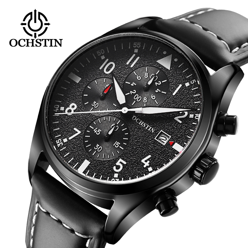 relogio masculino OCHSTIN Watch Men Chronograph Wristwatch Mens Luxury Quartz Watch orologio uomo relogio masculino de luxo