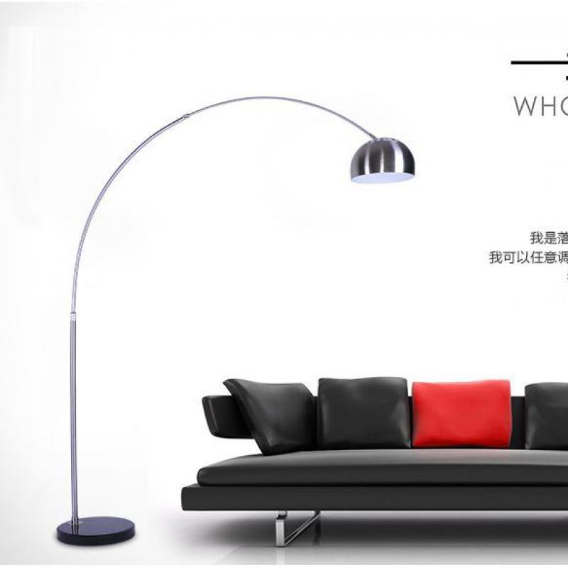 Stehlampe Lesen modernen hohen stehlampe lange angeln lampe stehleuchte für