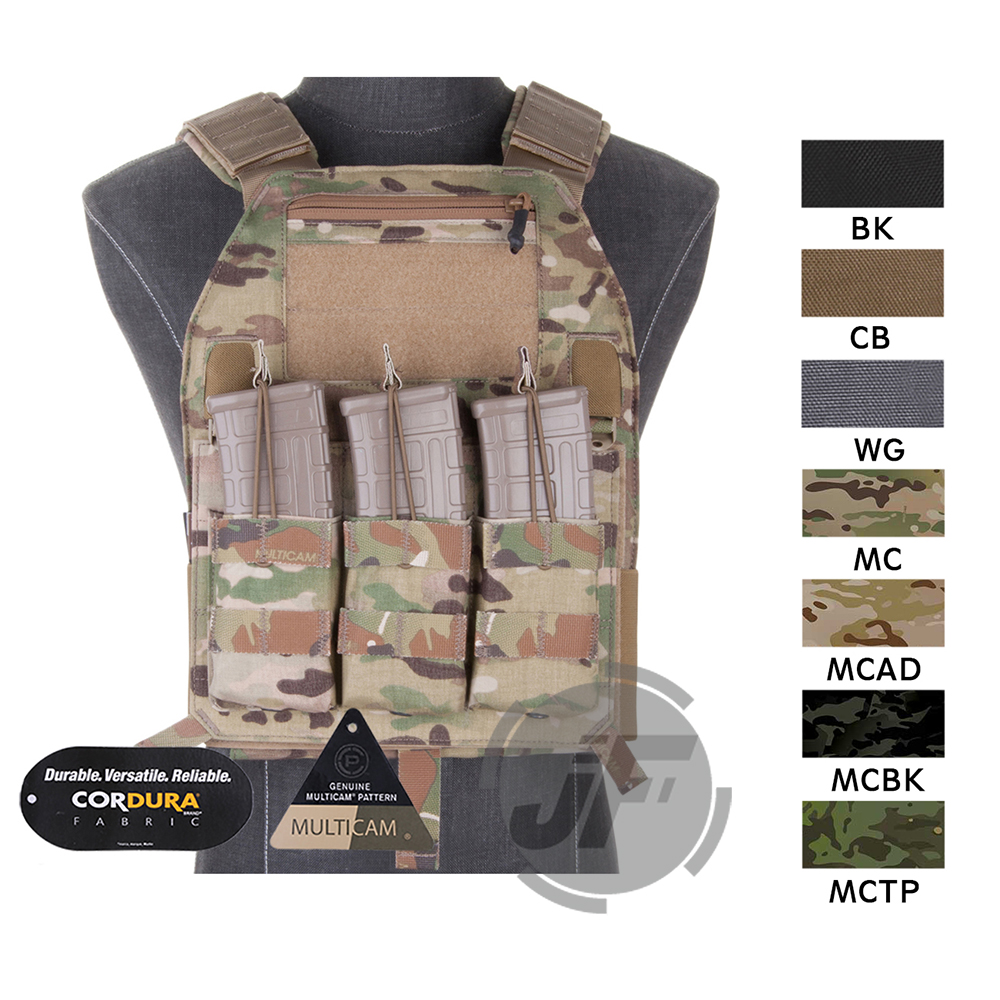 Emerson LBX 4019 Armatus Slick Plate Carrier EmersonGear Tactical Lightweight Adjustable Vest Body Armor w Mag