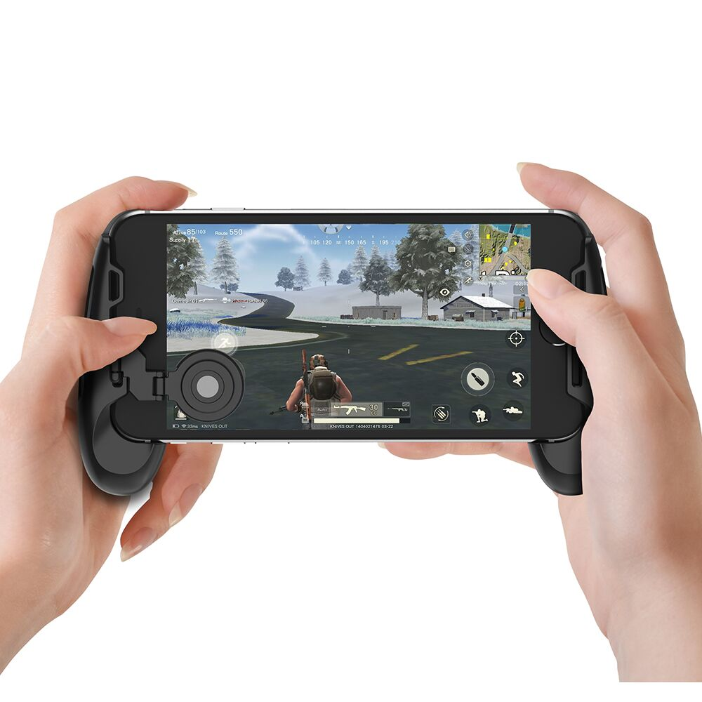 GameSir F1 Joystick Grip for Android & iOS Smartphone, PUBG-Like Games,Arena of Valor, Mobile Legends, RoS,Knives Out, Free Fire
