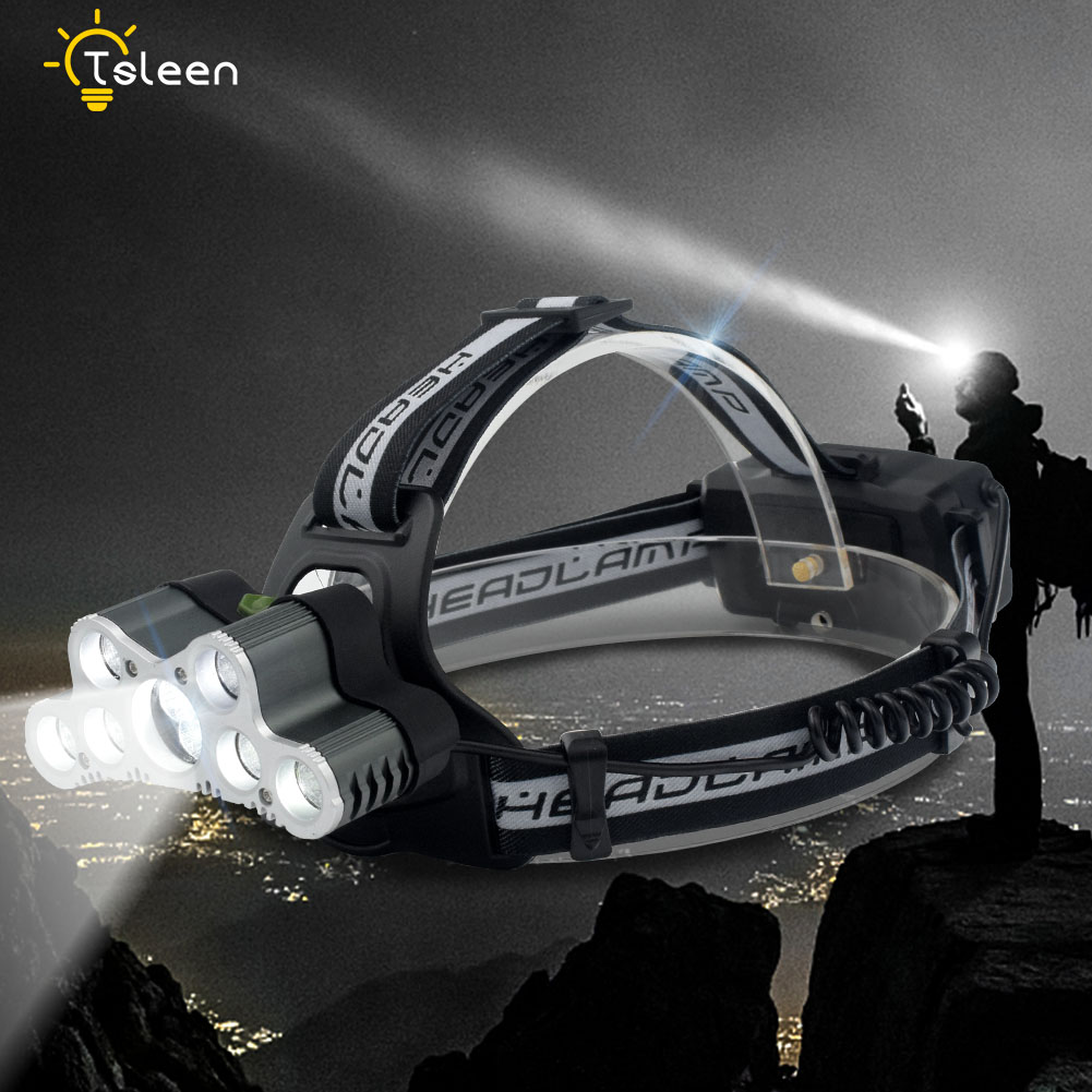 6500 Lumens 7/9 CREE LED Headlamp XML T6 Headlight Led Head Lamp Camping Light Fishing Flashlight Torch Rechargeable for 18650 sitemap 9 xml