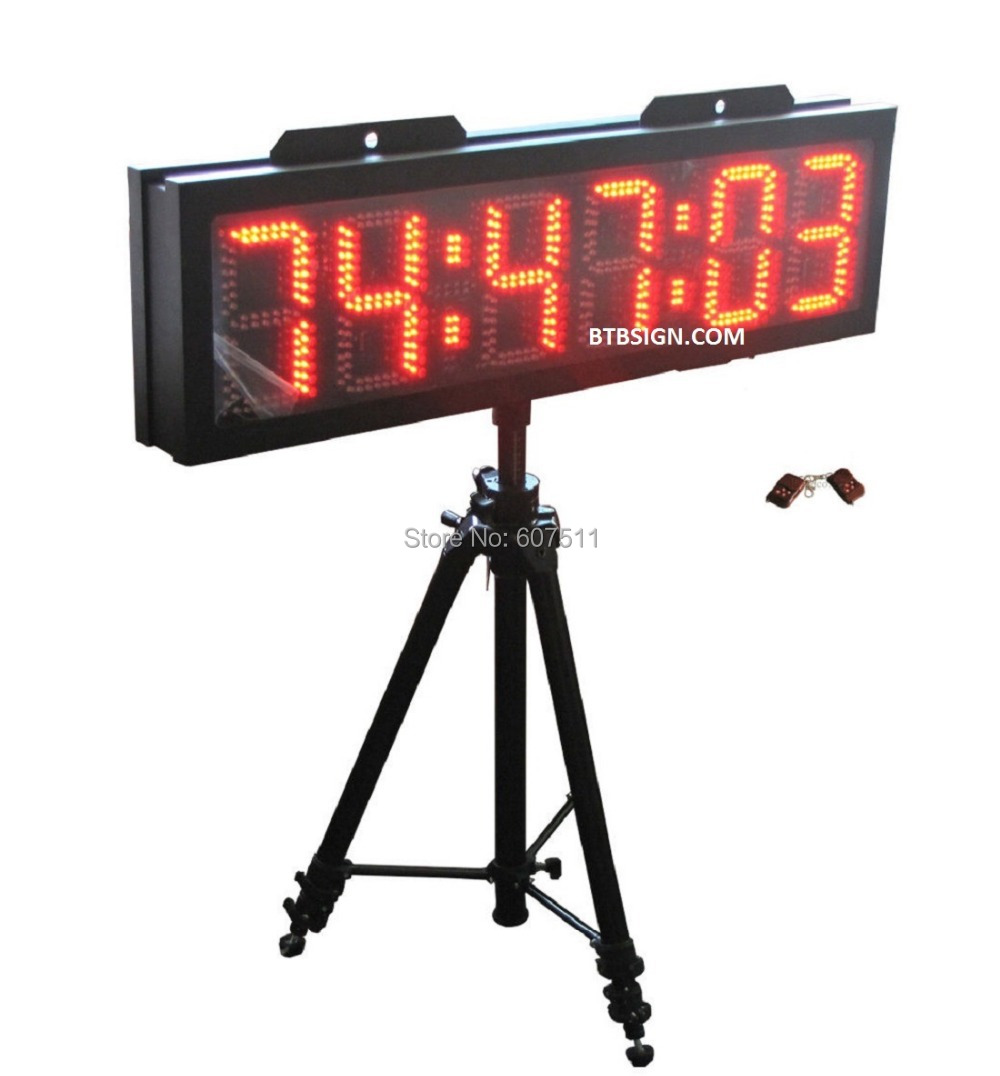 Aliexpress.com : Buy 8'' Character High Red Color LED Countdown ...