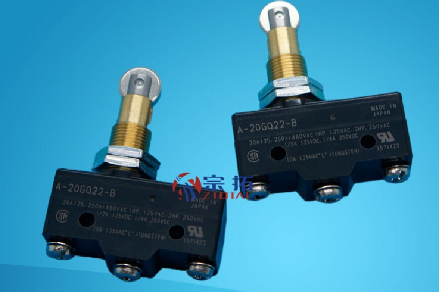 A-20GQ22-B Micro Switch OMRON Limit Switch 10pcs long straight hinge lever spdt micro limit switch v 153 1c25