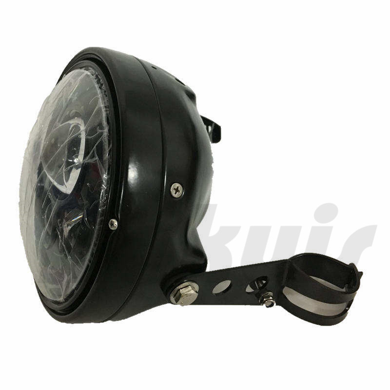 Moto Bicycle Accessories LED Round 7 Motorcycle Headlight Housing bucket For Harley Chopper Cafe Racer Bobber