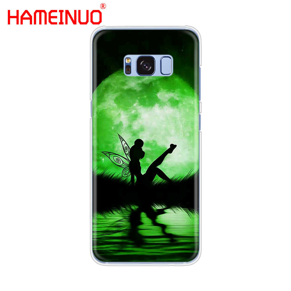 Hameinuo Peter Pan Wendy Tinkerbell Tinker Bell Cell Phone Case Cover untuk Samsung Galaxy S9 S7 Edge Plus S8 S6 s5 S4 S3 Mini