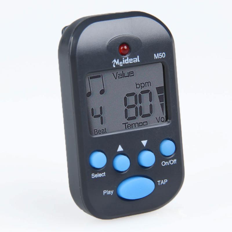 Mini Professional Clip on LCD Digital Tuner Metronome