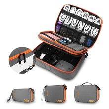 Многофункциональная дорожная цифровая сумка для хранения мобильного питания гарнитура u-диск кабель для хранения данных сумка для хранения кабеля USB гаджет Органайзер