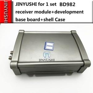 Image 2 - 1 סט חדש עבור טרימבל BD982 מקלט בסיס כבל tester ההפרש RTK גבוהה דיוק כפול אנטנת GPS l1 l2/GLONASS/גלילאו/BD