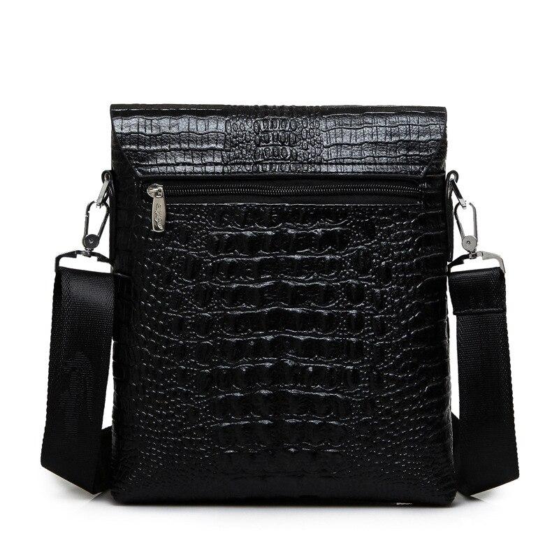 qualidade homens de couro bolsa Number OF Alças/straps : Único