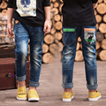 2017 newest Spring and Autumn Children's trousers Cowboy trousers for medium and large hot sale