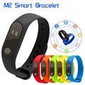 М2 Монитор Сердечного ритма Смарт Браслет Bluetooth 4.0 Smartband Шагомер Sleep Monitor IP67 водонепроницаемый PK M5 Mi группа 2