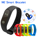 M2 Heart Rate Monitor Smart Bracelet Bluetooth 4.0 Smartband Passometer Sleep Monitor IP67 waterproof PK M5 Mi band 2