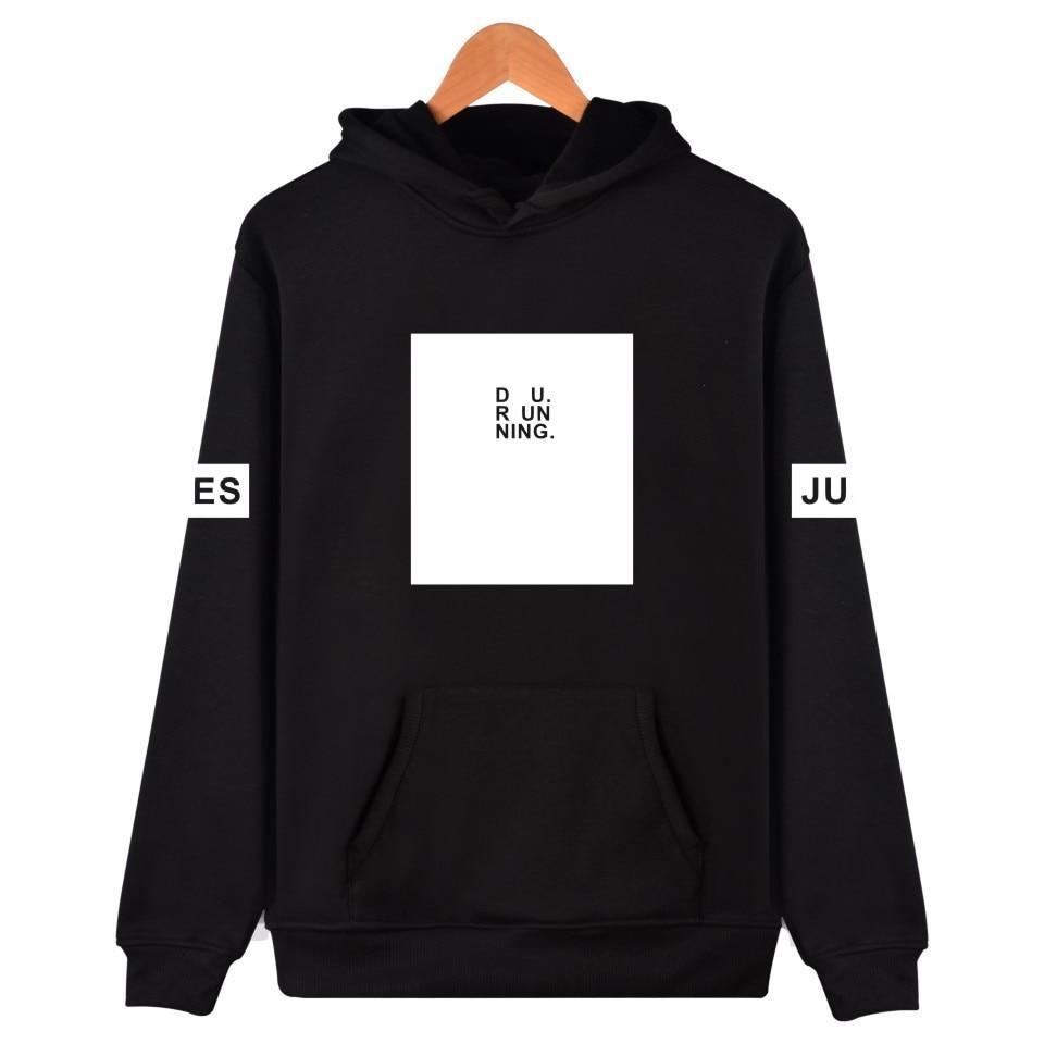 BTS kpop jungkook same fashion Print women hoodies Korea lovers autumn hooded sweatshirts men pullovers cotton Harajuku clothes