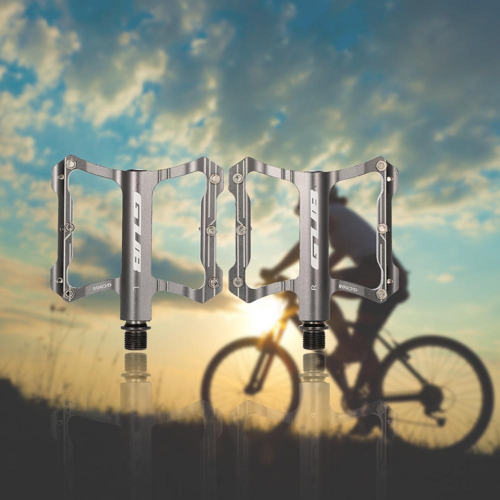 GUB gc009/Bike Aluminio Pedales para Bicicleta de Trekking MTB BMX Freeride etc.