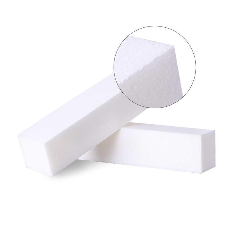 לבן צבע נייל הצפת מלטש חסימת טחינת קבצים DIY ליטוש Manicur Professsional נייל אמנות כלי