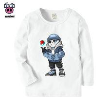 Kid s Long Sleeve Game Undertale Sans Cartoon Printed T Shirt Boys Girls  Autumn Casual Winter Tops Kids Cute T-Shirt 9ae4b8f9fa02