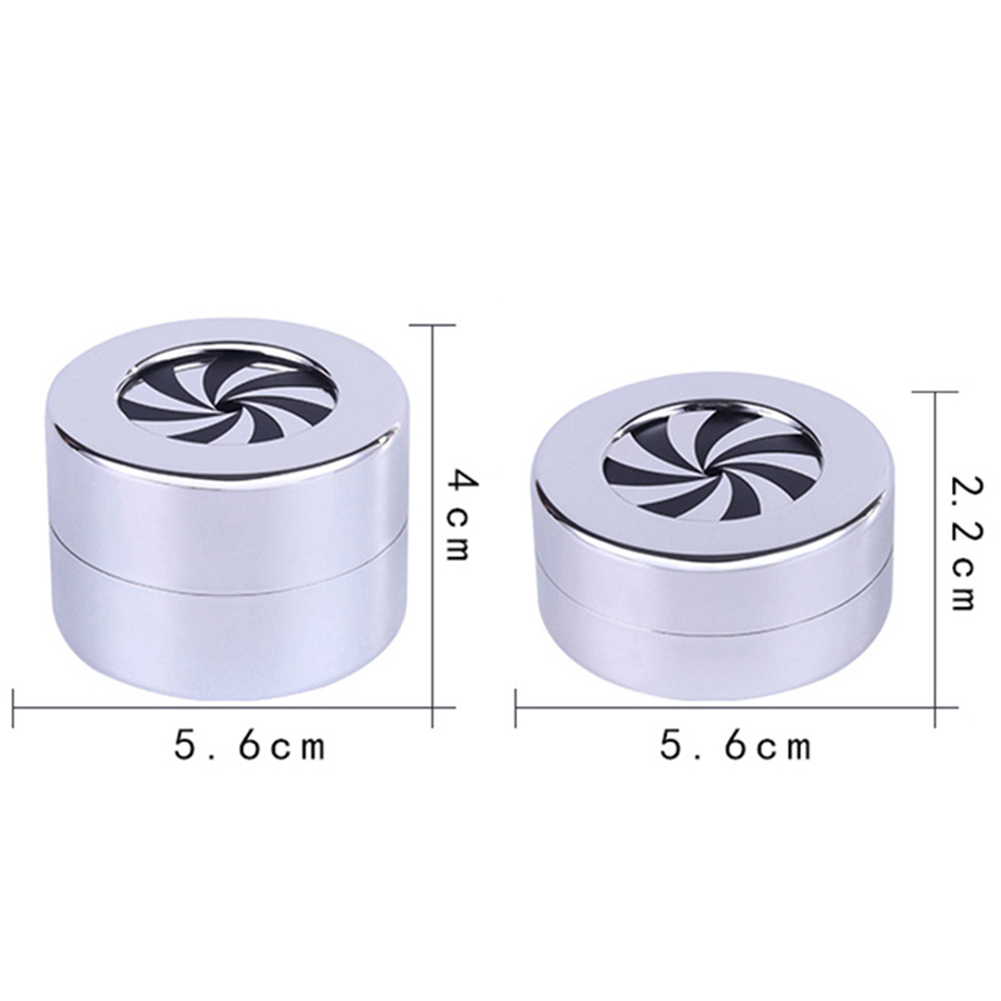 Creative Round Rotating Wedding Ring Gift Box Jewelry Display Storage Case in Storage Boxes Bins from Home Garden