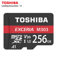 TOSHIBA Micro SD Memory Card 256GB 128GB 64GB 98Mb/s Waterproof TF Card SDXC UHS I U3 V30 Trans Mikro Card 128GB For smart phon