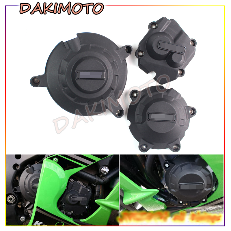 Motorcycles Engine Cover Protection Case for GB Racing For Kawasaki ZX-10R ZX10R 2011-2017 image