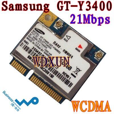 Samsung GT-Y3400 21M Módulo PCIe de medio tamaño WCDMA 3G WWAN - Equipo de red