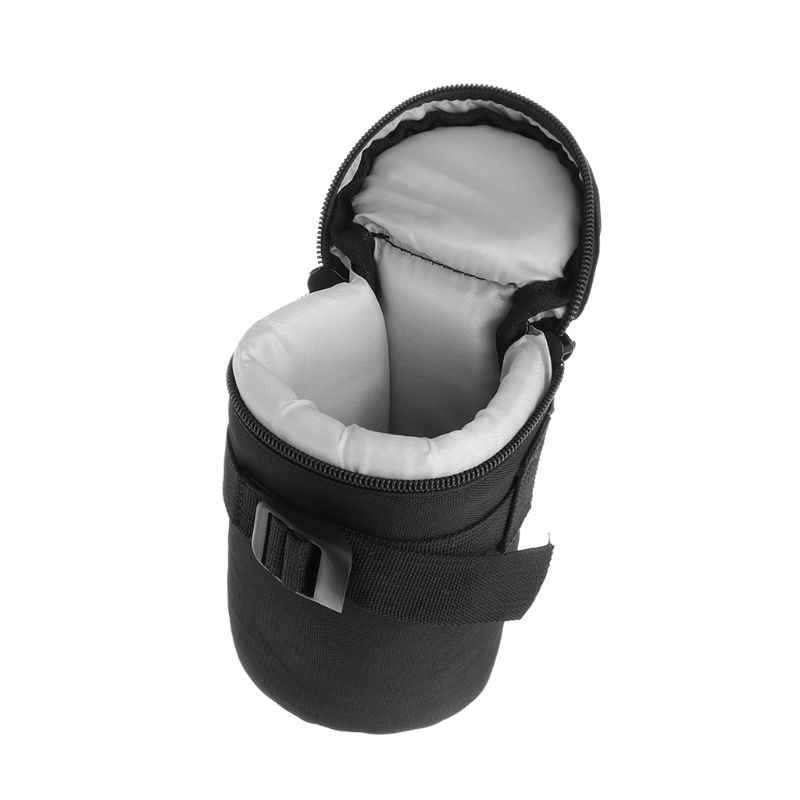 N20 Padded Shockproof DSLR Camera SLR Lens Protector Carry Pouch Bag Case Black