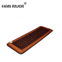 2018 High Sale Infrared Heated Tourmaline/Germanium Stone Massage Mat Korea Mattress Heating Massage Korea Tourmaline Mat