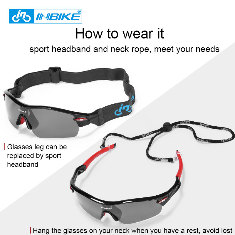 e360cc5a390 INBIKE Polarized Cycling Glasses Bicycle Sunglasses Bike Glasses Eyewear  Ocular Eyeglass Goggles Spectacles UV Proof ciclismo911-in Cycling Eyewear  from ...