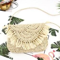 Винтажная вышитая ручная сумка через плечо с кисточками богемная Женская сумка через плечо женская сумка для путешествий, походная пляжная...