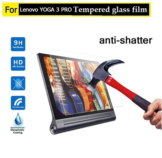 "10.1"" Best premiem 0.3mm 9H Tempered Glass film for Lenovo YOGA Tab 3 Pro 10.1 tablet HD film Anti-shatter Screen Protector film"