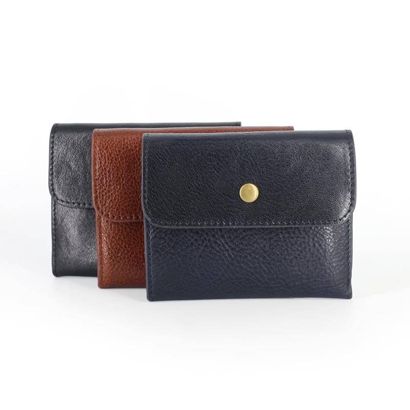 Image 3 - מטבע ארנקי נשים ארנקים עור אמיתי מיני ארנק קטן מטבע פאוץ Hasp & ציפר תיק כרטיס בעל כיס גברים עור פרה ארנקארנקים למטבעותמזוודות ותיקים -