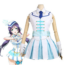 2019 New LoveLive wonderful rush Nozomi Tojo cosplay  costume womens Dress lovely full sets