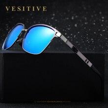 Marca de lujo de aluminio de aleación de gafas de sol polarizadas deporte de los hombres gafas de sol titanium hd polarizadas marca oculos gafas de sol hombre