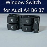 Polarlander Electric Window Switch Window Lifting Switch for A/udi A4 B6 B7 8ED959851 8ED959855 Left Front Door Master