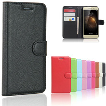 Leather Flip Phone Case for Huawei Y6 Compact