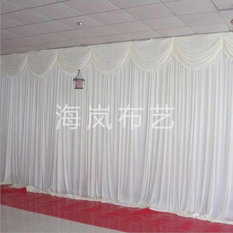 hot sale 3x6m ice silk simple white 10ftx20ft wedding backdrop curtain drap background for. Black Bedroom Furniture Sets. Home Design Ideas