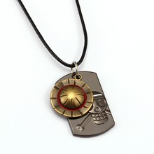 ONE PIECE  Luffy Hat Necklace