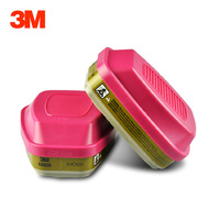 3M 60926 Filter Multi Gas Vapor Cartridge, P100 Respiratory Protection,Effectively Prevent Against Organic gas/Chlorine/Ammonia