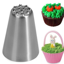 1PCs Stainless Steel Flower Icing Piping Nozzles Cake Decoration Tips Baking Tool DIY Pastry Sugar Craft Dessert Tools Bakeware