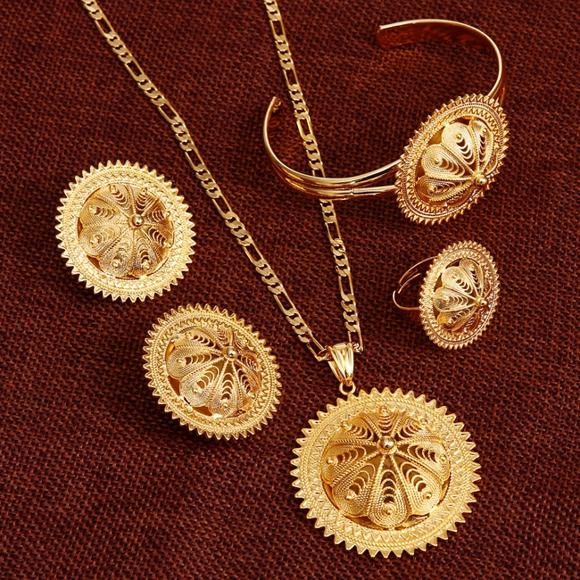 Bangrui NEW Ethiopian Jewelry Sets Solid gold color Habesha Set Ethiopia Wedding Bridal Jewelry Eritrea Nation AccessoriesBangrui NEW Ethiopian Jewelry Sets Solid gold color Habesha Set Ethiopia Wedding Bridal Jewelry Eritrea Nation Accessories