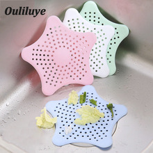 New Silicone Sink Strainer Filter Sewer Collaspible Colander Drain Hair for Bathroom Kitchen
