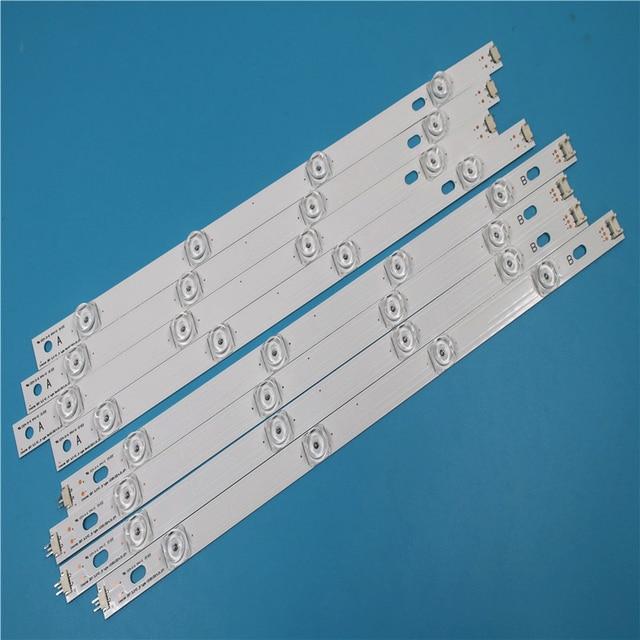 "825mm LED תאורה אחורית מנורת רצועת 8 נוריות עבור LG INNOTEK DRT 3.0 42 ""_ A/B סוג REV01 REV7 131202 42 אינץ LCD צג 1 סט"