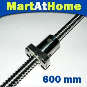 2 pcs/lot MAH vis à billes linéaire Anti-jeu RM 1605-600mm-C7 XYZ CNC avec écrou et extrémité usinés # SM117 @ SD