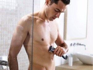 Image 2 - Islak ve kuru şarjlı vücut damat kiti saç düzeltici elektrikli vücut tıraş makinesi giyotin erkekler için sökücü epilasyon arka kol bacak