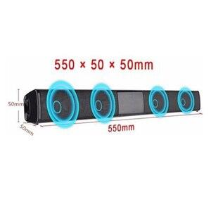 Image 4 - 20W Home TV Speaker Wireless Bluetooth Speaker Soundbar Sound Bar Sound System Bass Stereo Music Player Boom Box with FM Radio