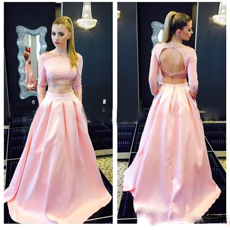 Formal Party Skirt 2017 Trendy Pink Long Skirts Womens