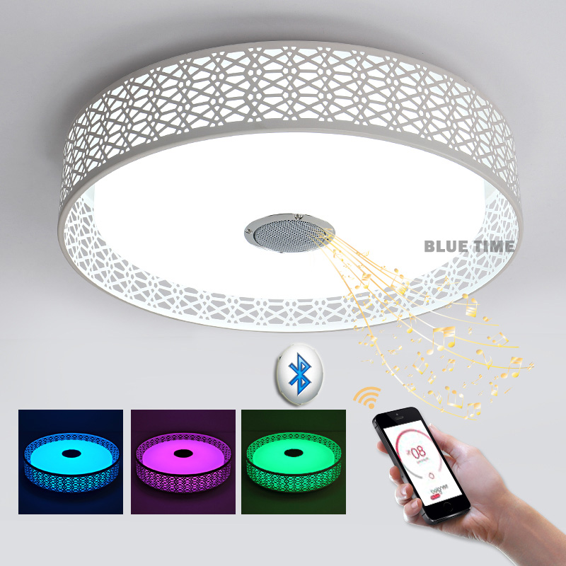 47CM Intelligent multi color App control ceiling light Mobile Phone App Ios/android Acrylic ceiling lights with APP bluetooth mipow playbulb sphere bluetooth intelligent led light with app control
