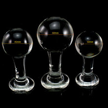3 pcs set huge glass anal plug large big beads butt plugs anal dilator expander balls adult sex toys for woman buttplug erotic