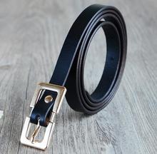 Lengthen belt girls top quality leather-based belt vogue pin buckle belts for girls informal ornament girls belts cummerbunds 150cm
