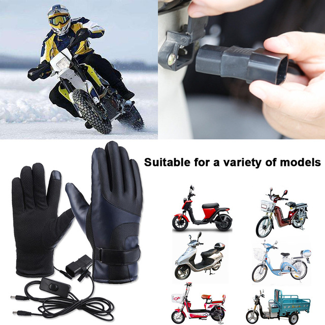Waterproof Unisex Electric Warm Sports Impermeable Motociclist Motorcycle Heated
