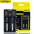 Liitokala Lii-202 Lii-402 Lii-100 1 2 V 3 7 V 3 2 V 3 85 V AA 18650 18350 26650 18350 NiMH литиевая батарея умное зарядное устройство
